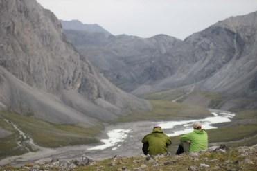 2012: Brooks Range, Alaska, collecting boulder samples, PC: Jason Briner