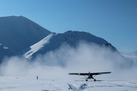 2013: Brooks Range Alaska, the 1952 Beaver picks us up, that's me for scale.